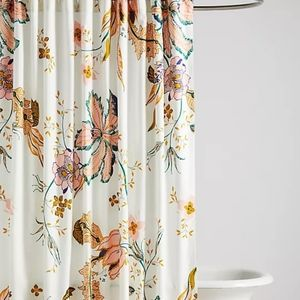NWT Anthro Porte Bonheur Shower Curtain